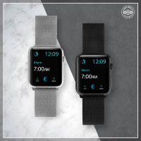 Ремешок X-Doria Mesh для Apple watch 42/44 mm Серебро