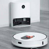 Робот-пылесос Xiaomi Roidmi EVE Plus Robot Vacuum and Mop Cleaner + Cleaning Base